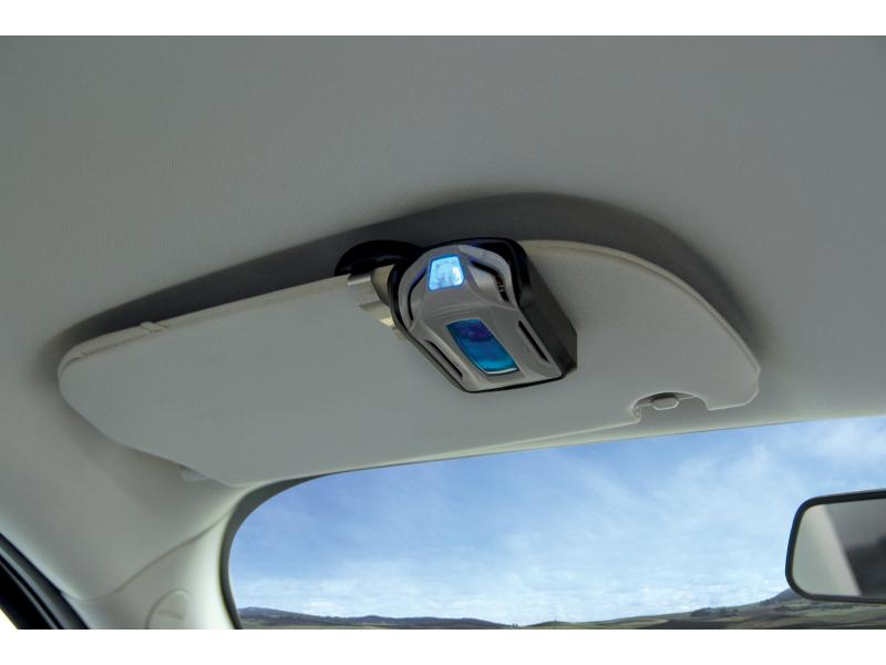 Visor Clip in Car